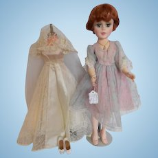 "Madame Alexander 21"" Morisot Portrait Doll, redressed"