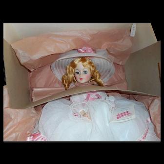 """Madame Alexander """" Melanie """" 1979, Portrait doll, NIB"""