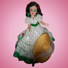 """Madame Alexander """" Scarlett O'hara"""" 1991, portrait doll"""