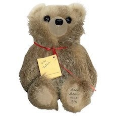 Limited Edition 4373 Basu Bears Vintage Fur Teddy Bear from 1991