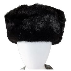 Gorgeous Mink UNISEX Hat with Ear Flaps