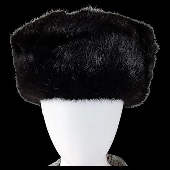 Gorgeous Mink UNISEX Hat with Ear Flaps