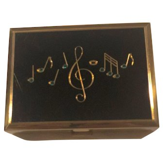 Reuge - STE - CROIX 1940's Swiss made Music Box Compact