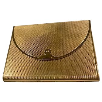 Vintage Coty Envelope Compact with case 1940's