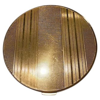 """Rex 5th Ave 5"""" Round Goldtone Flapjack"""