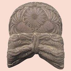 Antique 1780s Riegelhaube women's hair covering hat Munich Bavaria