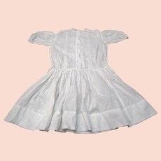Antique Victorian early 1900s girls dress