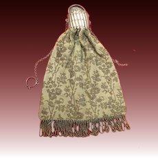 Antique Victorian beaded mesh  purse