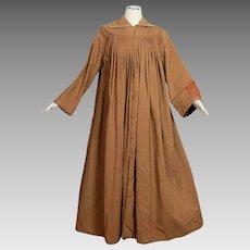 Antique Victorian Civil War era womens traveling paletot cloak coat