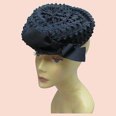 Vintage 1940s Tilt Hat