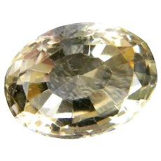 Natural Oval Cut Citrine Gemstone! 14.1 X 10.5 X 8.0mm - 6.94ct