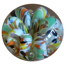 St, Clair hand blown Maud & Bob Paperweight 1975
