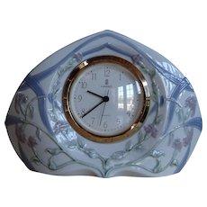 Lladro Porcelain Clock Segovia #5655 Reloj Diamantino MIB