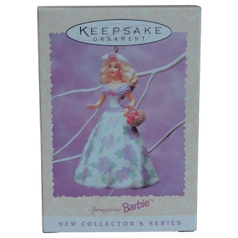 Barbie Keepsake ornament 1995 Easter Collection Hallmark