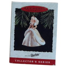 Barbie Keepsake ornament 1994 Hallmark Holiday series