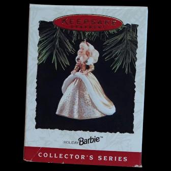 Barbie Keepsake ornament 1994 Hallmark Holiday series