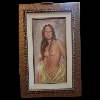 Leo Jansen oil painting, Nude 20th century signed