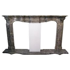 Antique Italian Marble Fireplace
