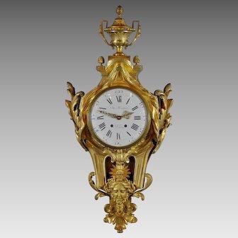 Large French Cartel Clock, Circa