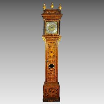 Rare English Longcase Striking clock, XVIII century, Signed Penton London