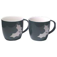 Starbuck's Holiday Cheer 2-PC Set Coffee Mugs