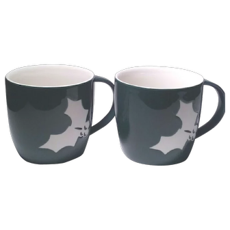 Starbuck's Holiday Cheer 2-PC Set Coffee Mugs