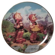 M. I. Hummel Little Explorers Collector's Plate