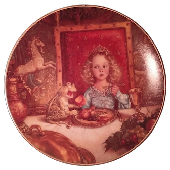 """Classic Fairy Tales by Edwin Knowles """"The Frog Prince"""" Collector's Plate 1992"""