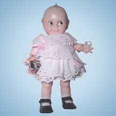 Kewpie Cameo Doll Original Rose O'Neill Design, Jesco 1983