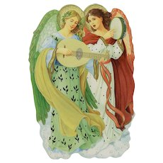 Hallmark Christmas Card Classic Angels designed by Robert A. Haas Unused