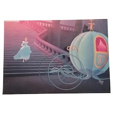 "Disney's Cinderella Lithograph  11""x14"""