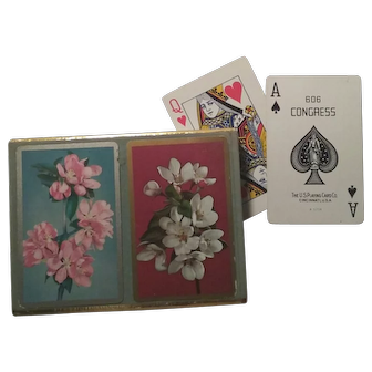 Congress Playing Cards Cell-U-Tone Finish Two Decks