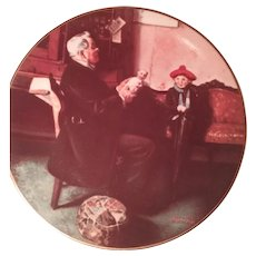 Norman Rockwell's Doctor and the Doll Collector's Plate