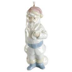 Lladro Santa Christmas Ornament c1991