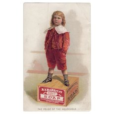 B. T. Babbitt's Soap Advertising Trade Card