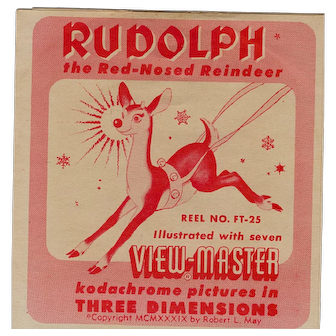 Rudolph the Red Nosed Reindeer 3-D View-Master Reel