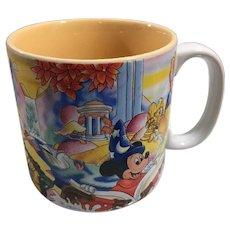 Disney's Animated Classic Fantasia Collector's Mug Featuring Mickey
