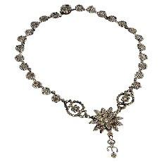 Georgian Cut Steel Necklace