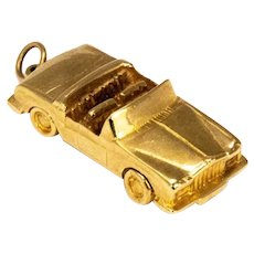 Vintage Bernard Instone 9 Carat Gold Rolls Royce Car Charm