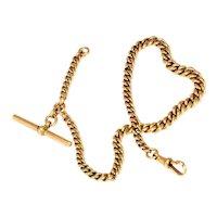 Victorian 9 Carat Gold Albert Chain