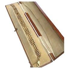 Vintage 9 Carat Gold Gate Link Bracelet