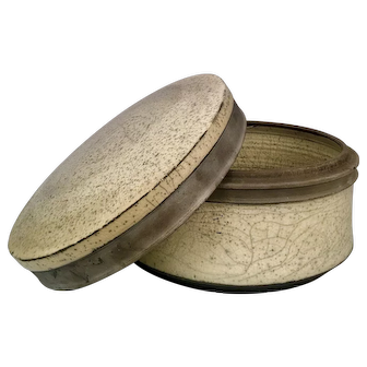 Ceramic Bowl with Lid. By Russell Kagan