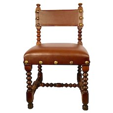 Child Chair in Leather