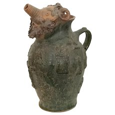 Pottery Jug, German