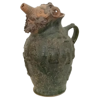 Pottery Jug, German
