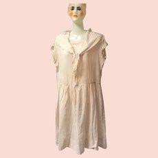 1920's Pink Flapper Era Dress