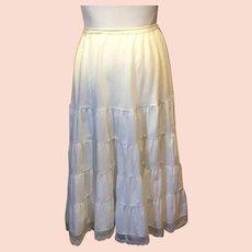 Barbizon Petti-flirt Circle Skirt Slip