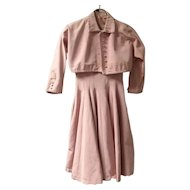 1950's Pam Rogers Circle Dress and Bolero