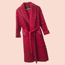 1970's Ardour Gowns Quilted Robe