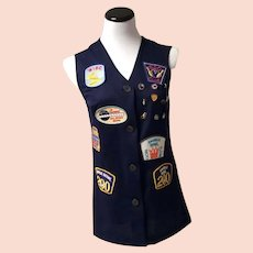 WIBC Player Bowling Vest with Award Badges and Patches